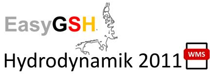 EasyGSH-DB: Hydrodynamik 2011 (WMS)