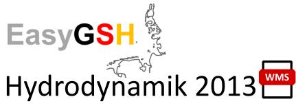 EasyGSH-DB: Hydrodynamik 2013 (WMS)
