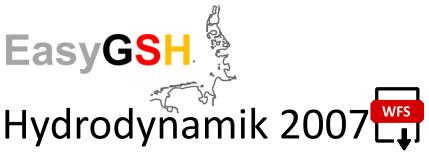 EasyGSH-DB: Hydrodynamik 2007 (WFS)