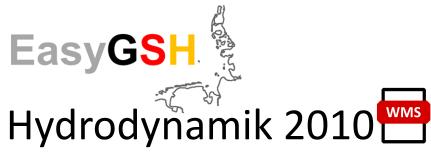 EasyGSH-DB: Hydrodynamik 2010 (WMS)